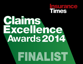 Claims Excellence awards finalist
